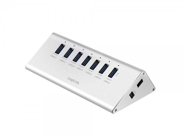 USB 3.0 Hub 7-Port mit Netzteil, LogiLink® [UA0228]
