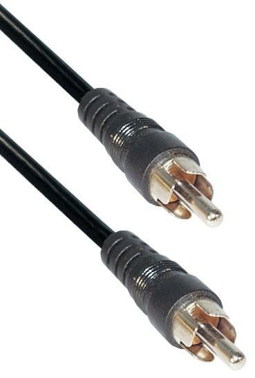 Mono Verbindung Cinch, Stecker an Stecker, 1,5m, Good Connections®
