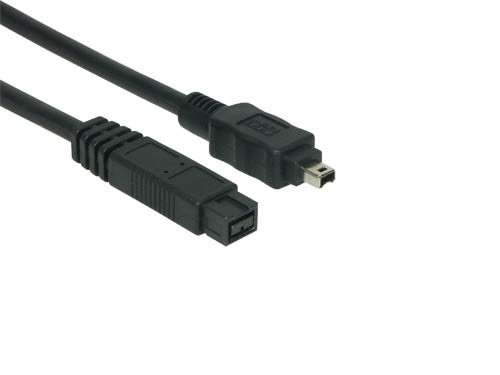 Anschlusskabel FireWire IEEE1394b 9/4, 1m, Good Connections®