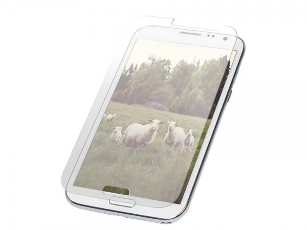 Displayschutzfolie für Samsung® Galaxy Note2 aus Glas, LogiLink [AA0055]