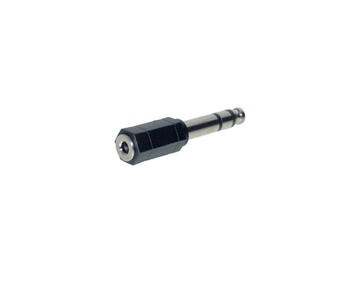 Audio Adapter 3,5mm Stereo Buchse / 6,3mm Stereo Stecker, Good Connections®