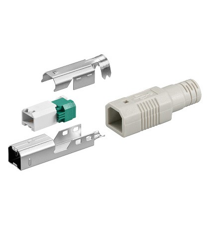 USB B Stecker, unmontiert, Good Connections®