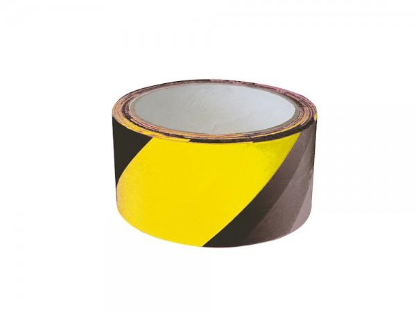 Absperrband schwarz-gelb
