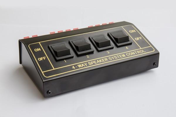Lautsprecher-Umschaltbox für vier Lautsprecherpaare, Good Connections®