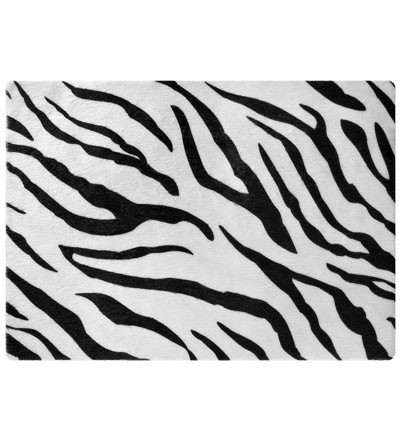 "Notebook Skin Zebrafell, Stoff, bis 17"", 390 x 265 mm"
