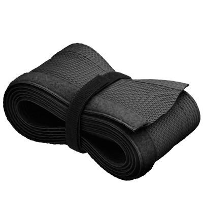 Kabelschlauch mit Klettverschluss zur sauberen Kabelbündelung, schwarz, 1.8m