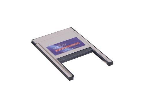 PCMCIA-Adapter für Compact Flash Karten, für Typ 1 und 2