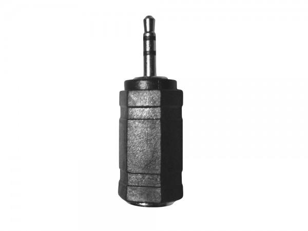 Stereo Headset Adapter, 3,5mm Buchse auf 2,5 mm Stecker, schwarz, LogiLink® [CA1103]