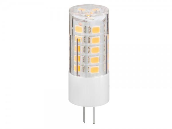 LED Kompaktlampe, Sockel G4, 3,5W, 12V, 340 lm, 2700K, (warmweiß), nicht dimmbar, A+, Abstrahlwinkel 280°