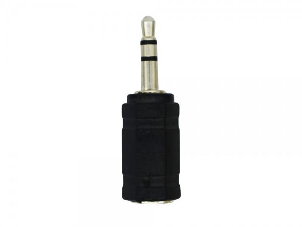 Stereo Headset Adapter, 3,5mm Stecker auf 2,5 mm Buchse, schwarz, LogiLink® [CA1102]