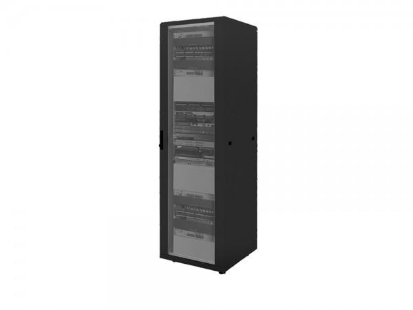 """19"""" Netzwerk Standschrank, 42HE, 600x600mm, schwarz, LogiLink® [D42S66B]"""