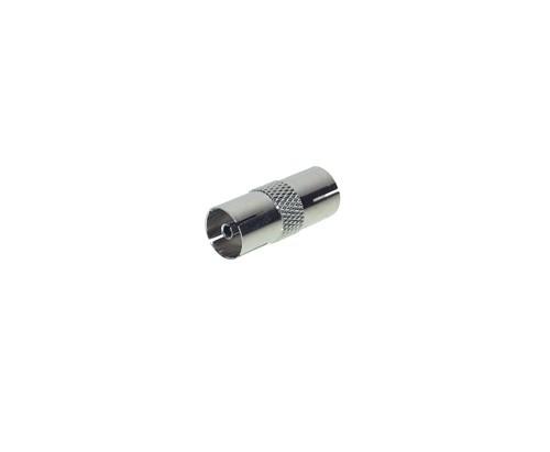 Koaxialkupplung Bu/Bu, Vollmetall, Good Connections®