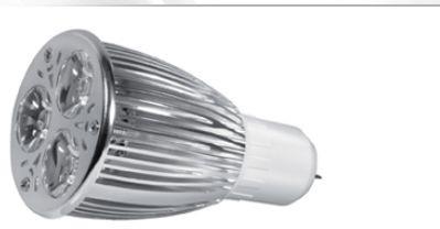 Power LED, GU5,3, 12V, 6W, 280lm, Ø 50 x 86mm, 3000K, Abstra