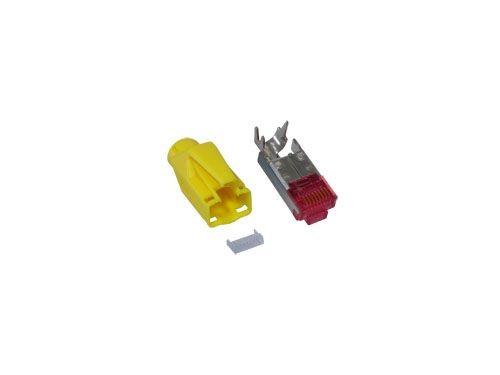 TM 21 Hirose Stecker Cat. 6, gelb, Good Connections®