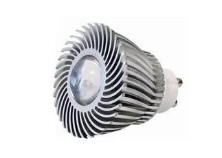 Power LED, 3W, 230V, 120 lm, 3800K, (warmweiß), nicht dimmbar, A, 15° Abstrahlwinkel