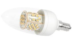 LED-Lampe, 3,5W, 230V, 200 lm, 3000K, (warmweiß), dimmbar, A+, >270° Abstrahlwinkel