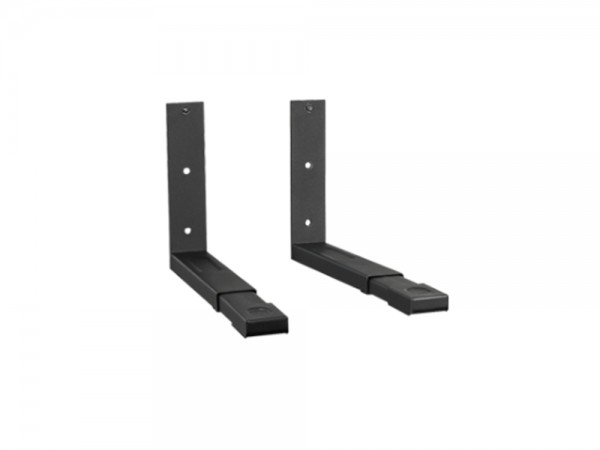 Halterung für Mikrowellengeräte, Belastung bis 35 kg, ausziehbar, schwarz, My Wall®