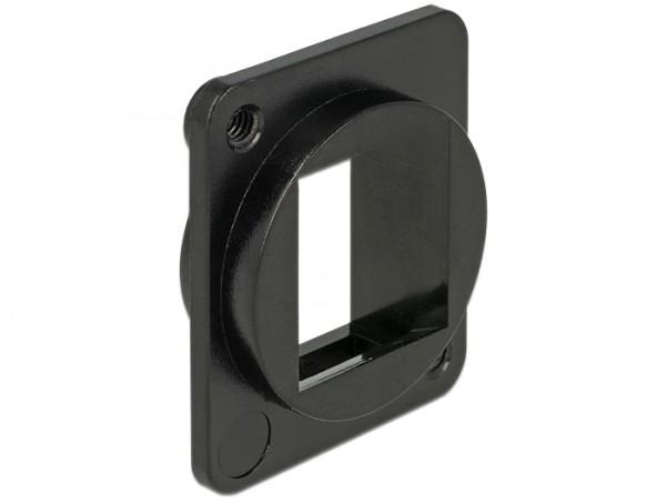 Keystone Halterung 1 Port für D-Typ, Delock® [86275]