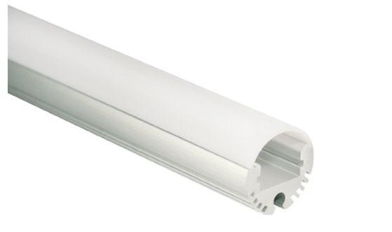 Al-Profil für LED-Leisten, Ø 20,8mm, ca. 2m