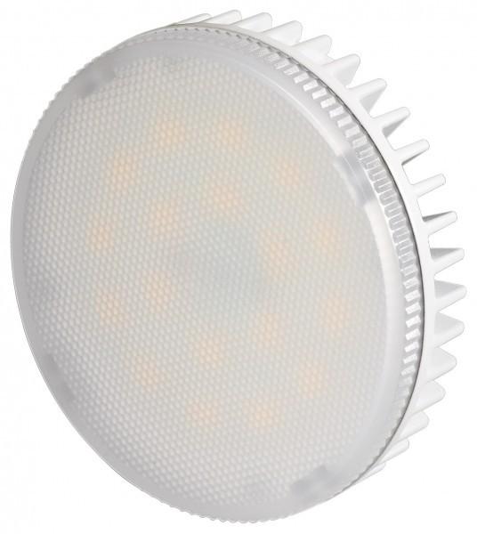 LED Einbaustrahler 8W, Sockel GX53, kaltweiß, 580Lm, 203V, 6400K, 75mm
