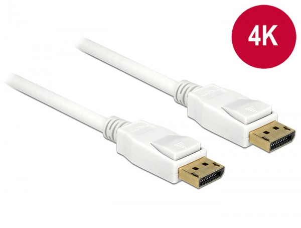 Kabel Displayport 1.2 Stecker an Displayport Stecker 4K 2m, Delock® [84877]