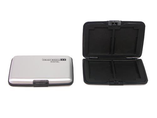 Aluminium Case für 8x Smart-Media Karten