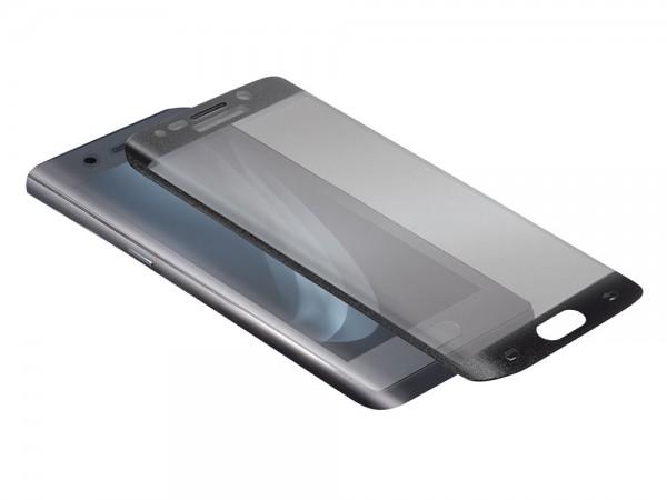 Displayschutzglas für Samsung Galaxy S6 Edge, schwarz