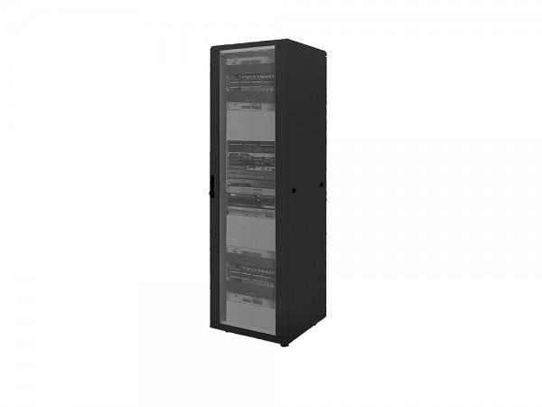"""19"""" Netzwerk Standschrank, 22HE, 600x1000mm, schwarz, LogiLink® [D22S61B]"""