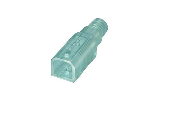 USB B Haube, transparent