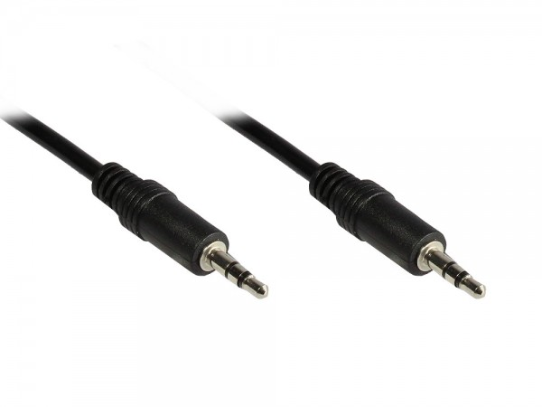 Stereo Verbindung 3,5mm Klinke St./St., 1,5m, Good Connections®