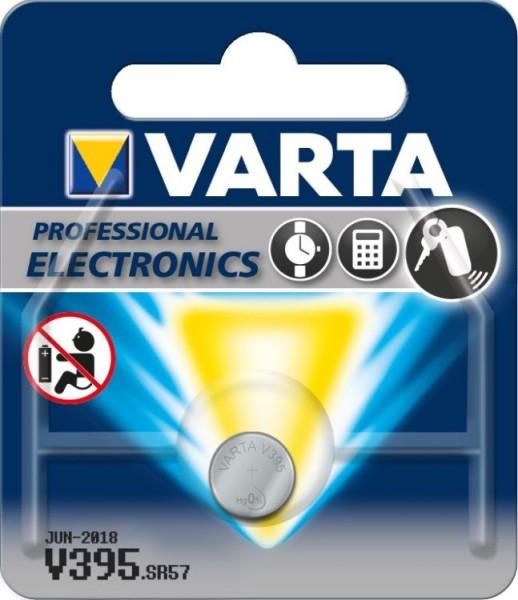 Varta® Knopfzelle (V395) Silberoxid-Zink, SR57, 1,55V, 42mAh