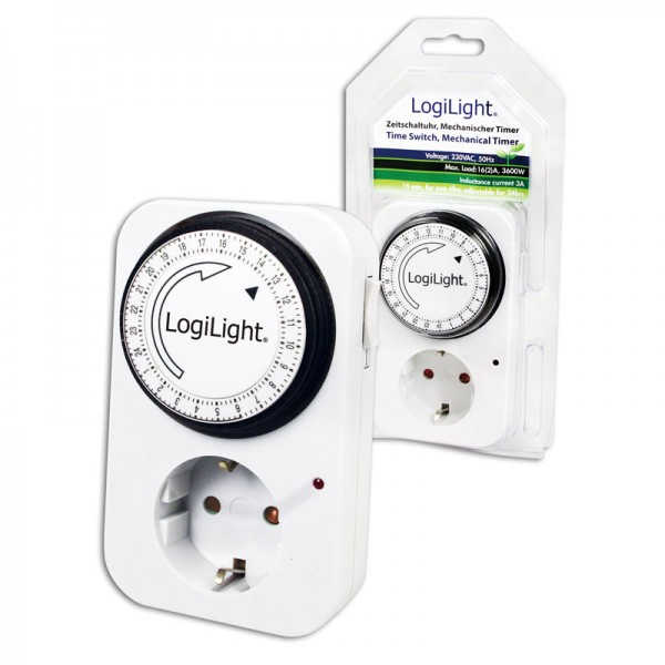 LogiLight® Mechanische Zeitschaltuhr [ET0001]