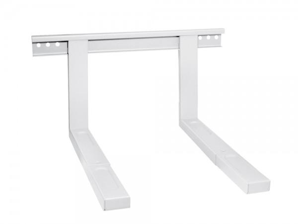 Halterung für Mikrowellengeräte, Belastung bis 35 kg, ausziehbar, weiß, My Wall®