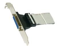 Standard Slotkabel 25 Pin Parallel mit 30cm länge, Exsys® [EX-K41010]