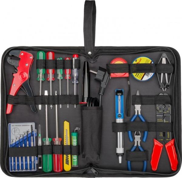 Werkzeugtasche mit Lötset, 20-teilig