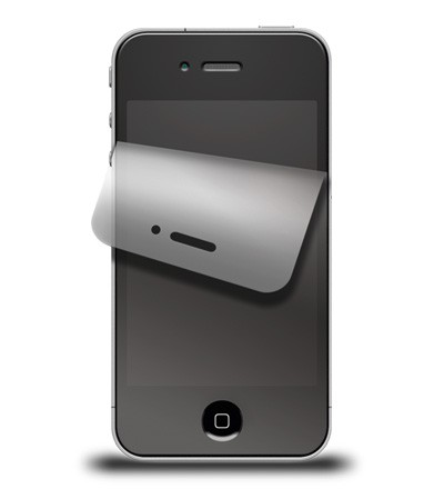 Displayschutzfolie für iPhone 4