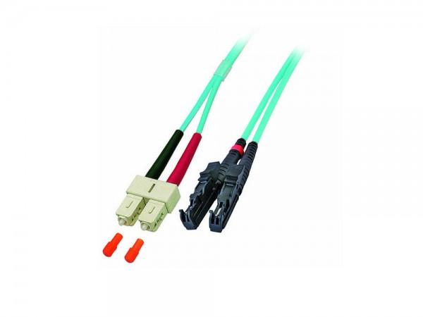 Patchkabel LWL Duplex OM4 (Multimode, 50/125) E2000®/SC, 20m, Good Connections®