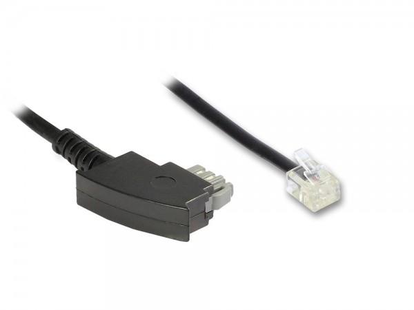 TAE-N, Modem-Verbindung, gebrückt, 3m, Good Connections®