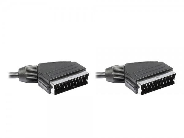 Anschlusskabel Scart Stecker an Stecker, 10m, Good Connections®