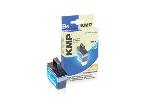 KMP Tintenpatrone kompatibel mit kompatibel mit Brother LC-900C, LC-41C