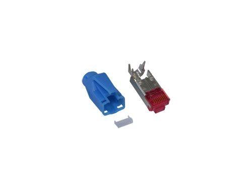TM 21 Hirose Stecker Cat. 6, blau, Good Connections®