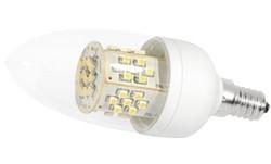 LED-Lampe, 3,5W, 230V, 200 lm, 3000K, (warmweiß), nicht dimmbar, A+, >270° Abstrahlwinkel