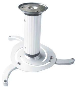 Deckenhalter Beamer/Projektor, Kugelgelenk, Farbe: weiß