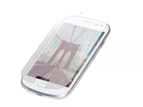 Displayschutzfolie für Samsung® Galaxy S3 aus Glas, LogiLink [AA0056]