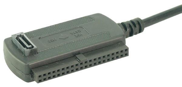 LogiLink® Adapter USB 2.0 to 2,5 + 3,5 Zoll IDE + SATA HDD [AU0006C]