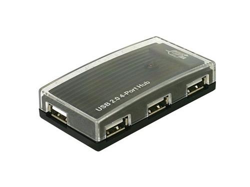 externer USB 2.0 Hub 4-Port, Delock® [61393]