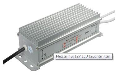Netzteil für 12V LED Leuchtmittel, 60W, 179*67*54mm