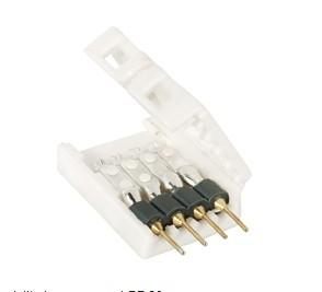 Anschluss Adapter für 10mm einfarbige LED-Leisten, 4 Stück