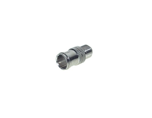 F-Quick-Stecker/F-Buchse, ZZF Metall, Good Connections®