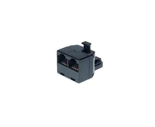 ISDN 2-fach Verteiler als Adapter ohne Endwiderstand